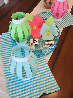 Homemade Luau Party Decorations Easy Craft Ideas