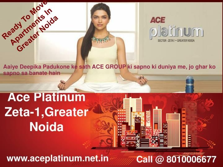 ACE Platinum Greater Noida is a place you can live peacefully leaving your tensions away. It provides a pollution free environment. We offer 2, 3, 4 BHK apartments enriched with luxurious lifestyles and amenities at affordable price.
