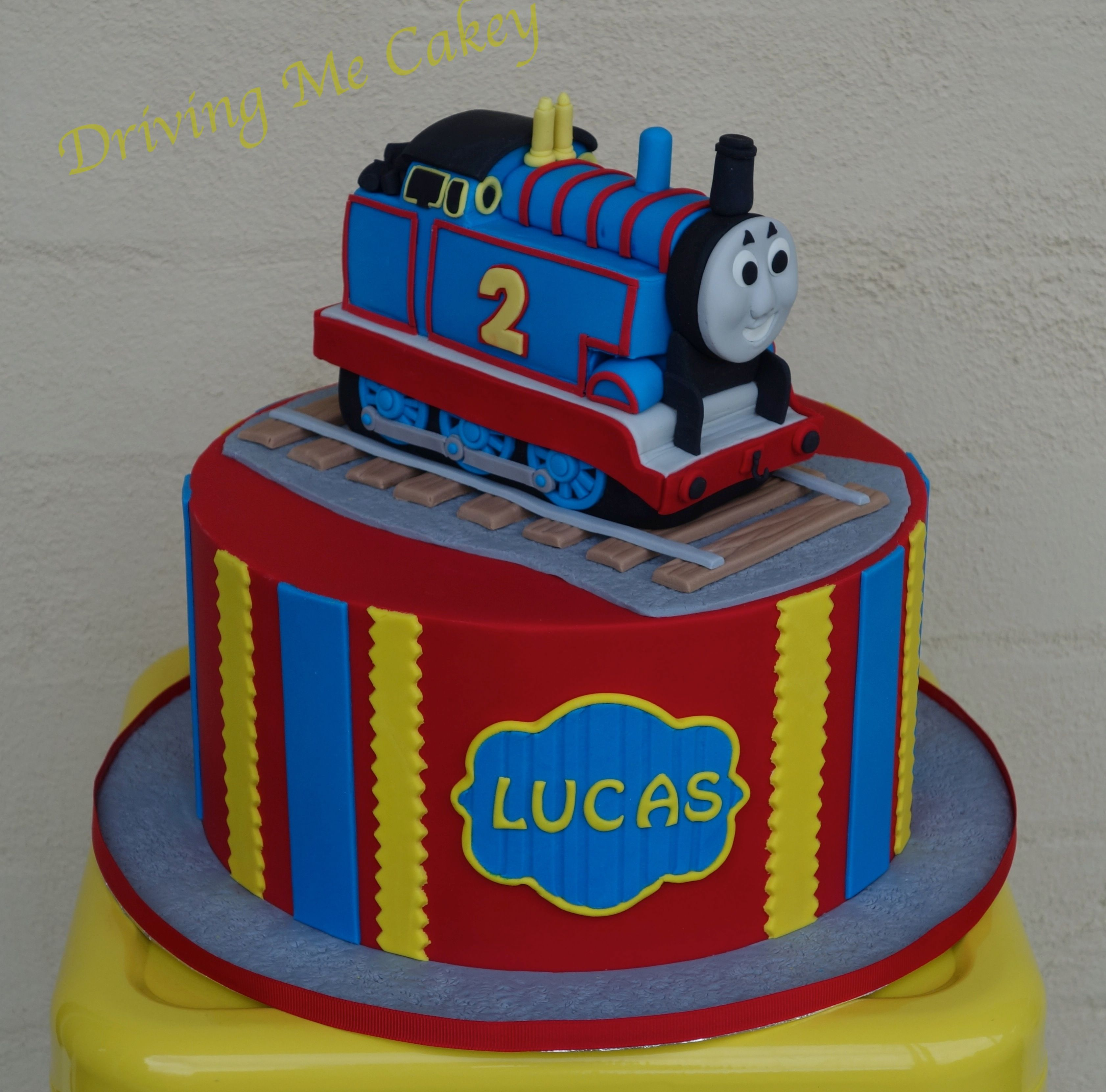 Thomas The Tank Engine Birthday Cake. Find Me On Facebook