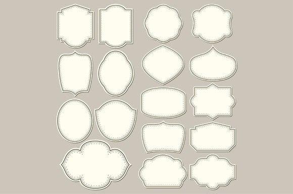Labels Shapes For All Design Label Shapes Template Design All Design