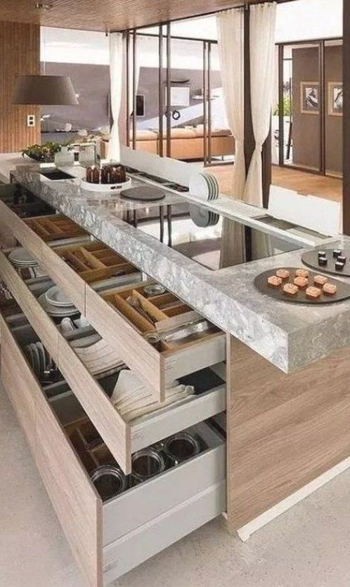 30 Kitchen Island Ideas to add that perfect blend of drama   design -  -   - #Add #blend #design #drama #HomeInteriorDesign #ideas #InteriorDesign #island #kitchen #ModernHomeDesign #perfect #pickndecorcomdesign