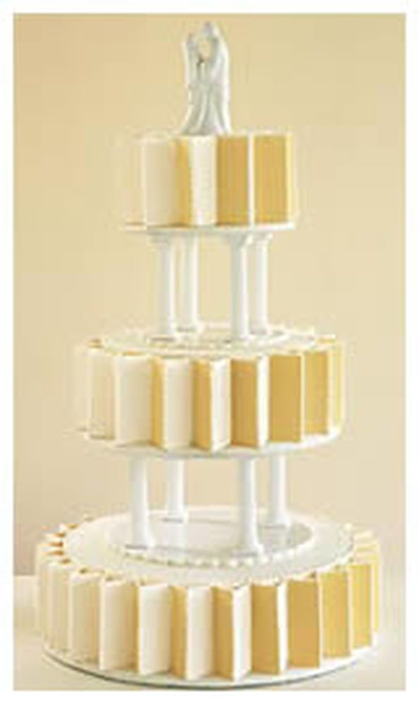 Use separator plates and pillars. Most dramatic method of tiered ...