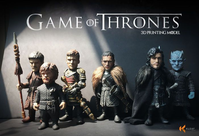 Game Of Thrones 3d Printing Models Galleries Character Game Of