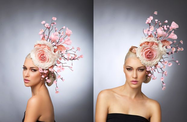 ab322f55747 Arturo Rios Couture Hat Collection Spring    Summer 2015