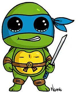Ninja Turtle Tatlı Resimler