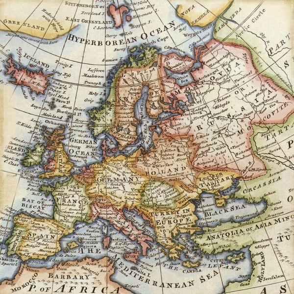 Vintage Maps Art Print By Wisteria Design Studio Society6 Vintage Maps Art Vintage Maps Map Art Print