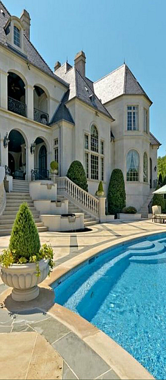 Elegant Exterior Of A Luxury Home Mansions Huge Houses My Dream Home