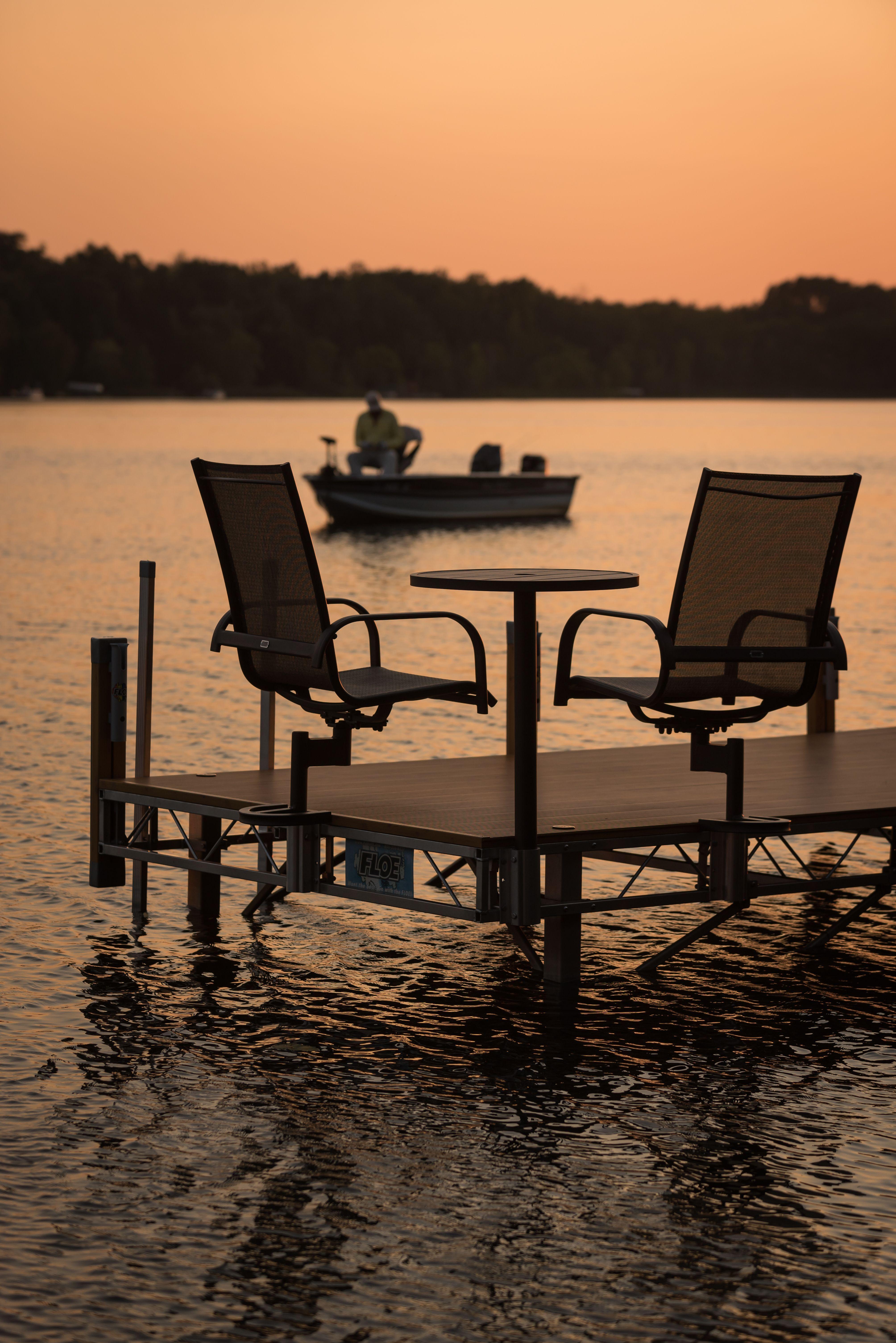Maintanence Free Dock Furniture Floe Lake Dock Dock Furniture Boat Lift Dock