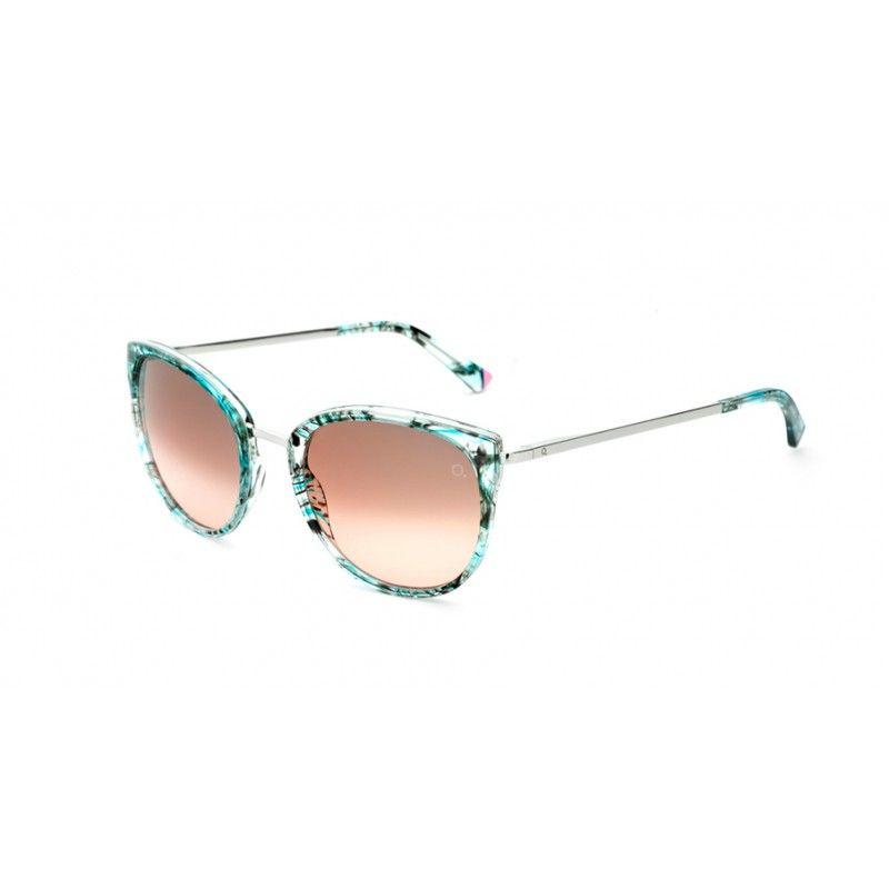 Barcelona Estampado Gafas Sol De Etnia Marrón Azul Princesa nwOX8k0P