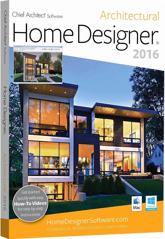 Chief Architect Home Designer Suite 2016 Unique Chief Architect Home Designer Architectural 2016 With In 2020 Architect Software Home Designer Suite House Design