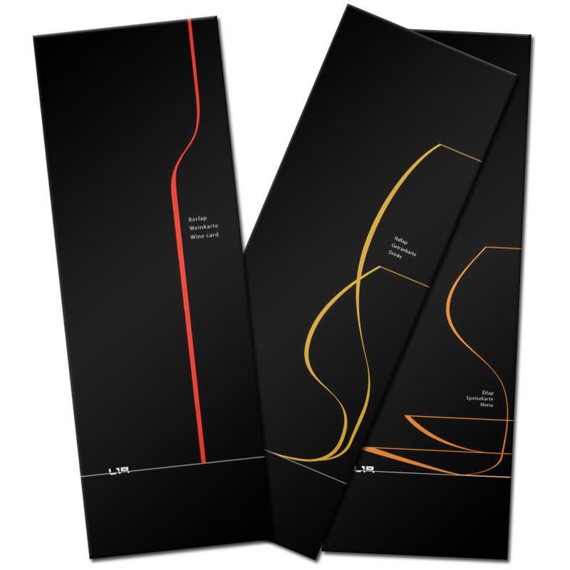 Home Design Ideas Buch: Wine Card, Menu Card, Drinks