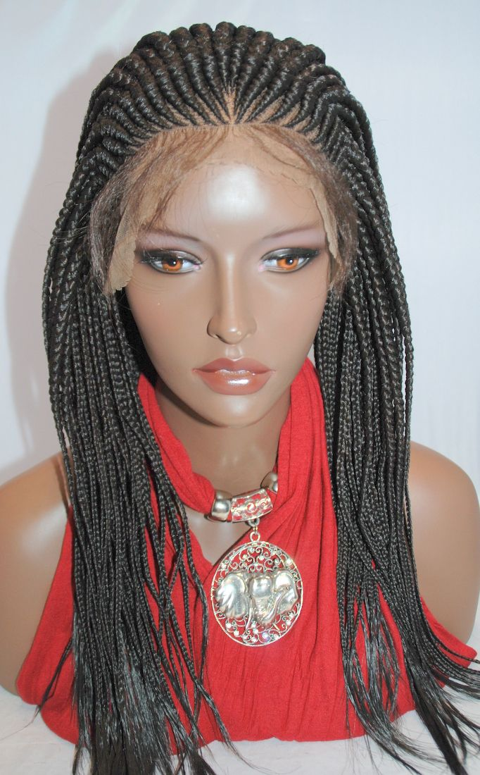 Braided Lace Front Wigs Hand Braided Lace Front Wig In