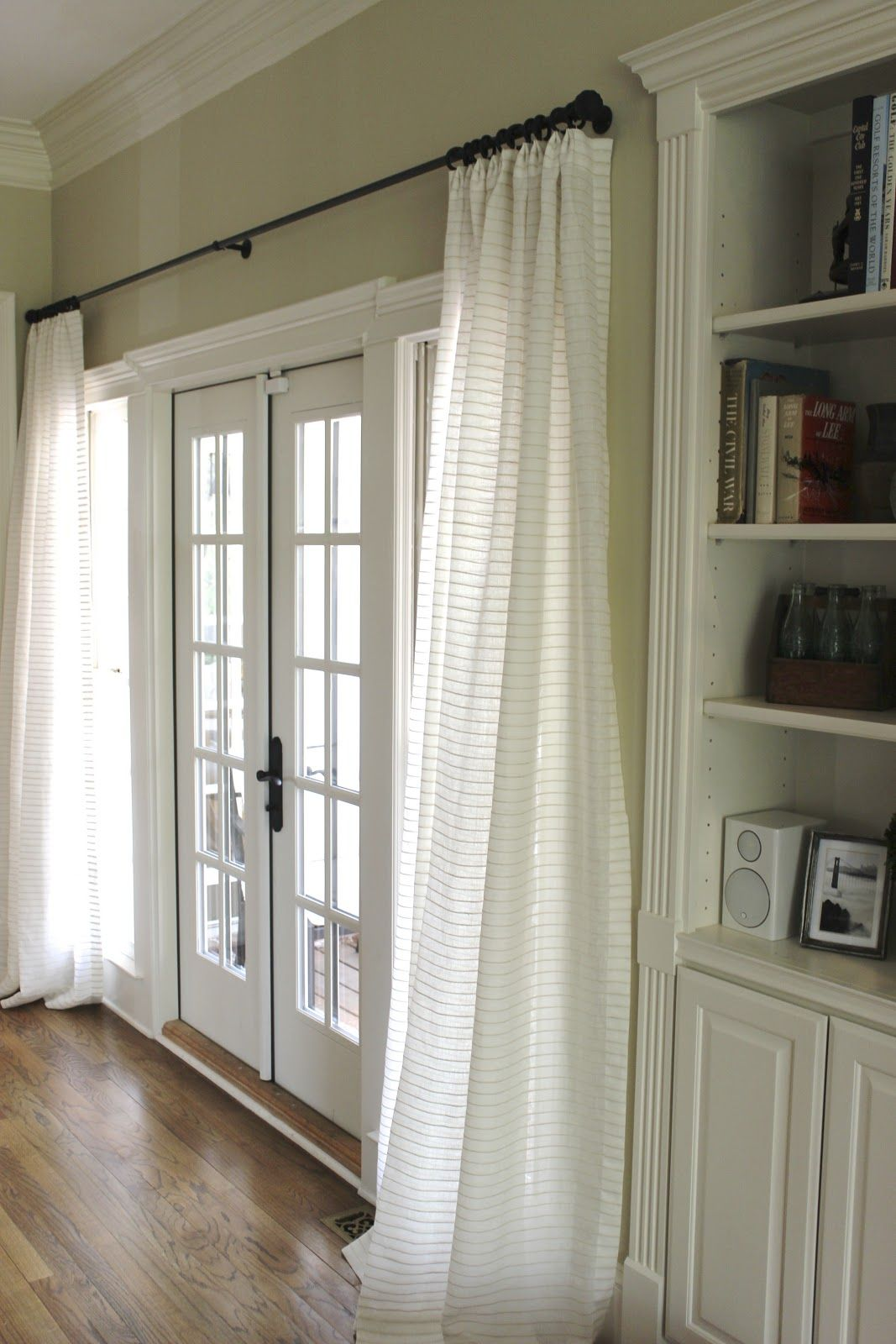 Where To Hang Curtain Rod