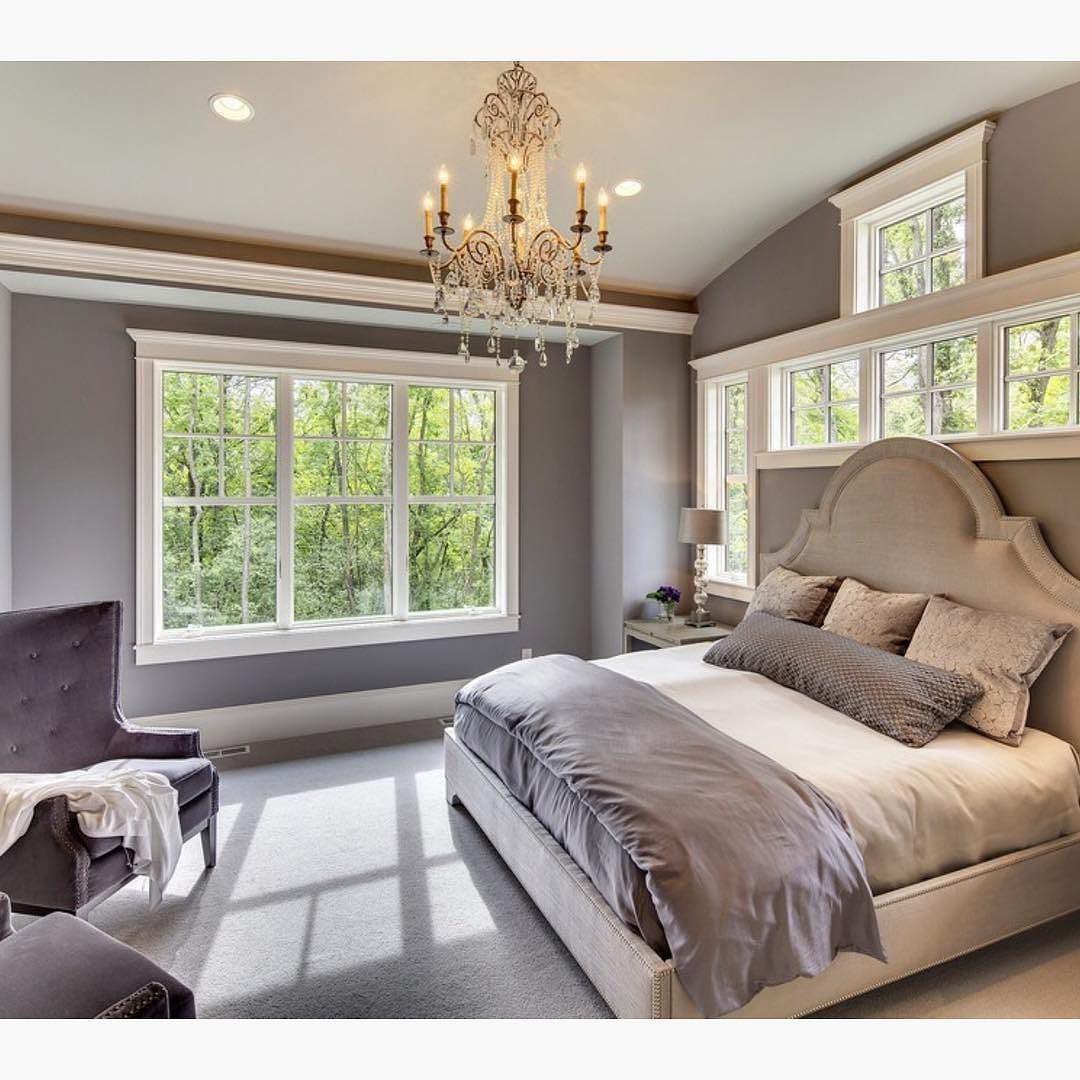 Large master bedroom decor ideas  Such an inviting bedroom by Susan Hoffman Designs  Home Decor is