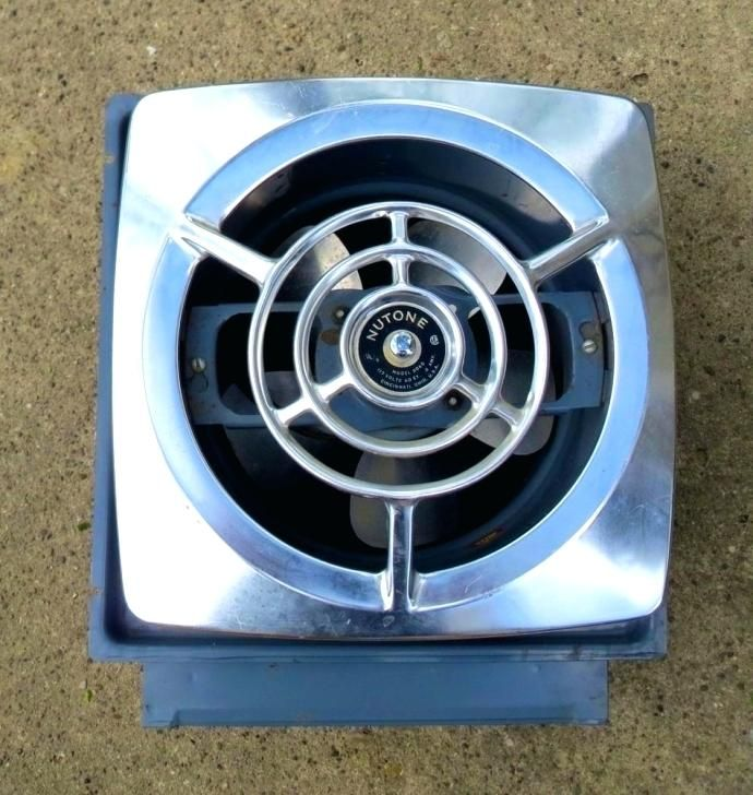 Nutone Vintage Exhaust Fan Kitchen Cover Bathroom Bathrooms