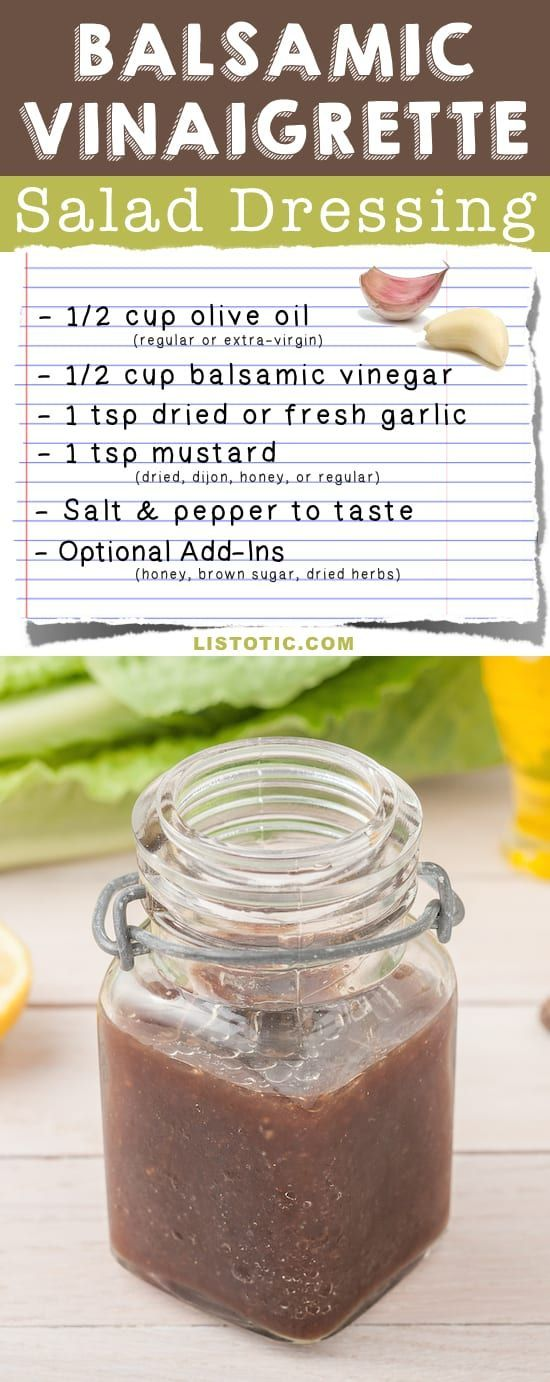 8 Basic Salad Dressing Recipes (easy and homemade!)