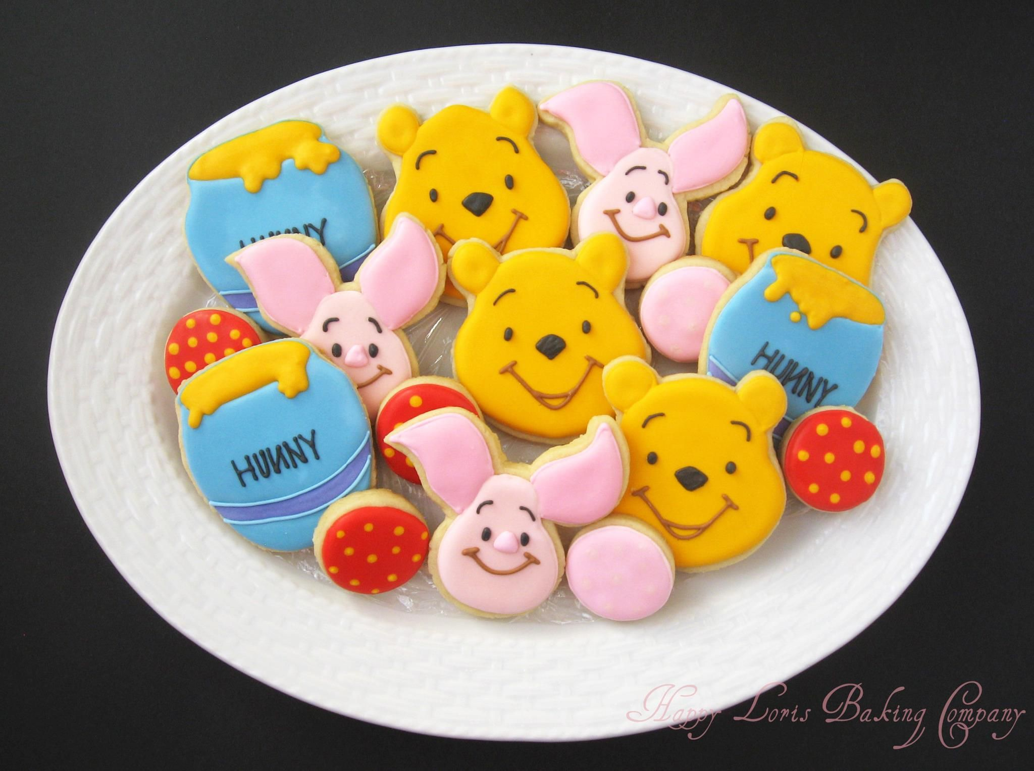 Tigger Fondant Decorated Cookies In Pinterest
