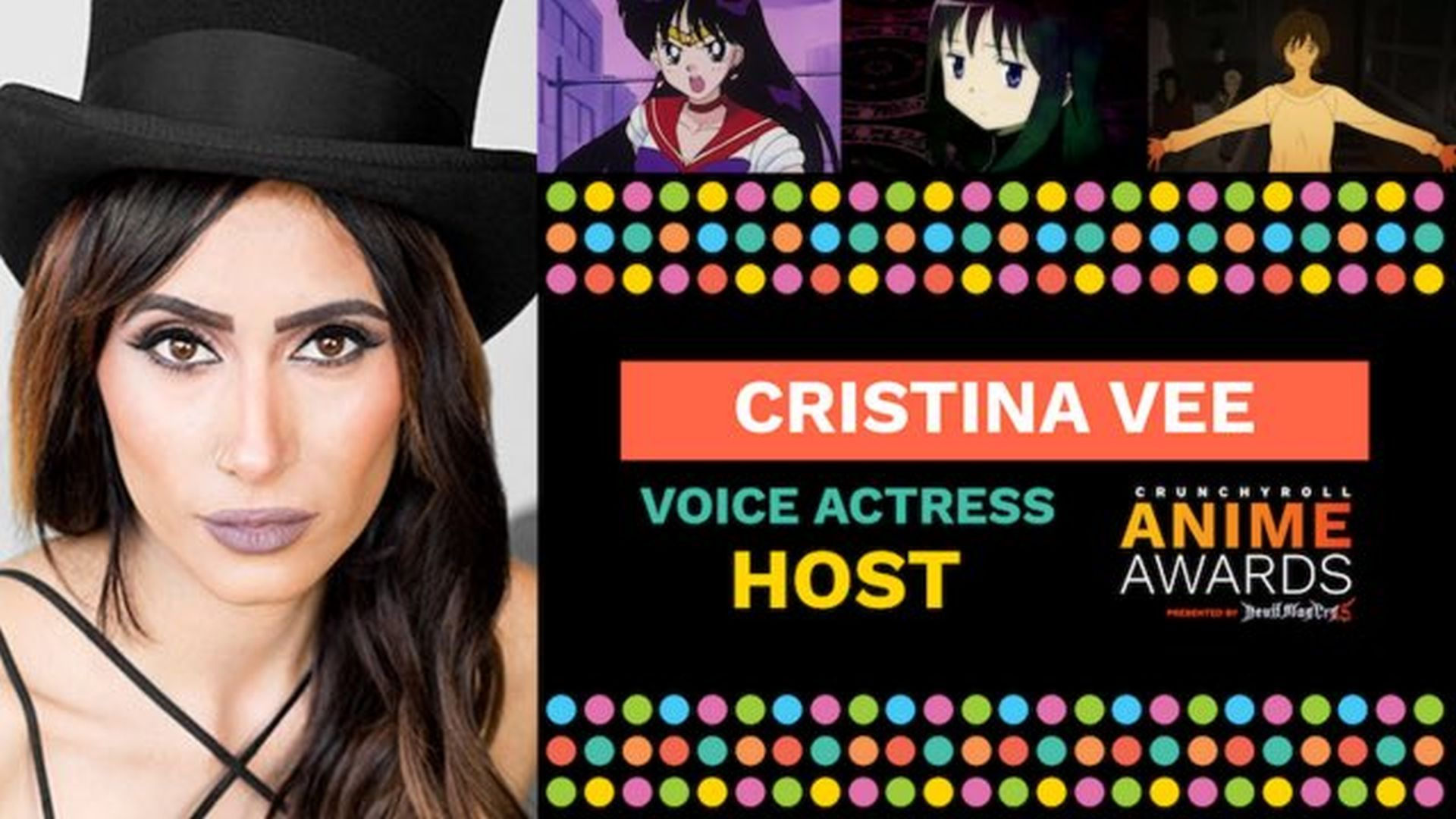 Cristina Vee to Host Crunchyroll Anime Awards and Here are