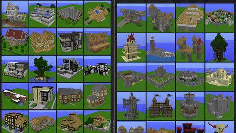 MinecraftModernHouseBlueprintsLayerByLayer Minecraft