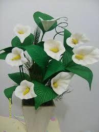Flores De Eva 54 Ideias E Passo A Passo Para Voce Bunga Kertas