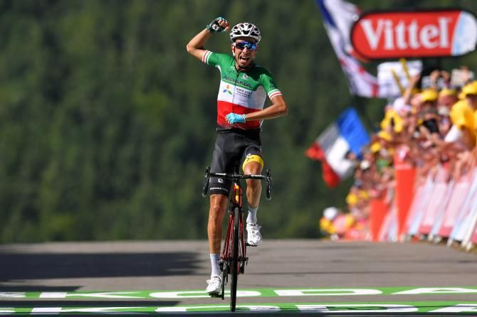 Fabio Aru Astana Wins Stage 5 Tdf 2017 Tour De France Lotto Soudal Cycling
