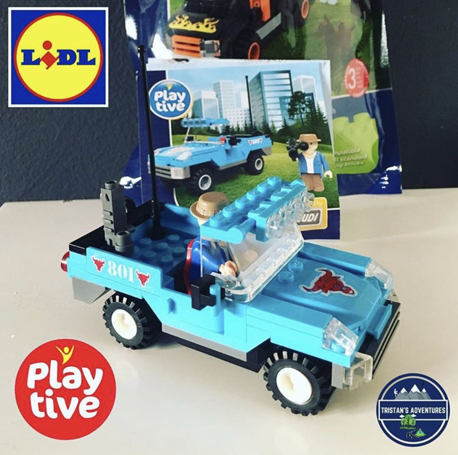 Lidl Play Tive Building Blocks Jeep Building Blocks Kids Blogger I Cool