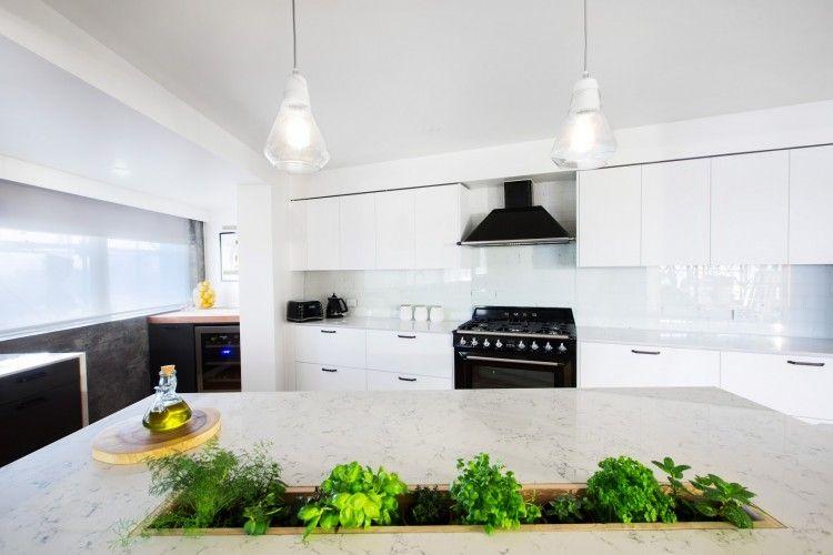 The Block Week Kitchen Reveals Kitchen Island Bench