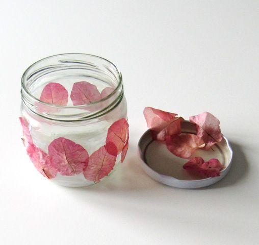 DIY Flores secas - flores con alambre y esmalte - De todo un poco
