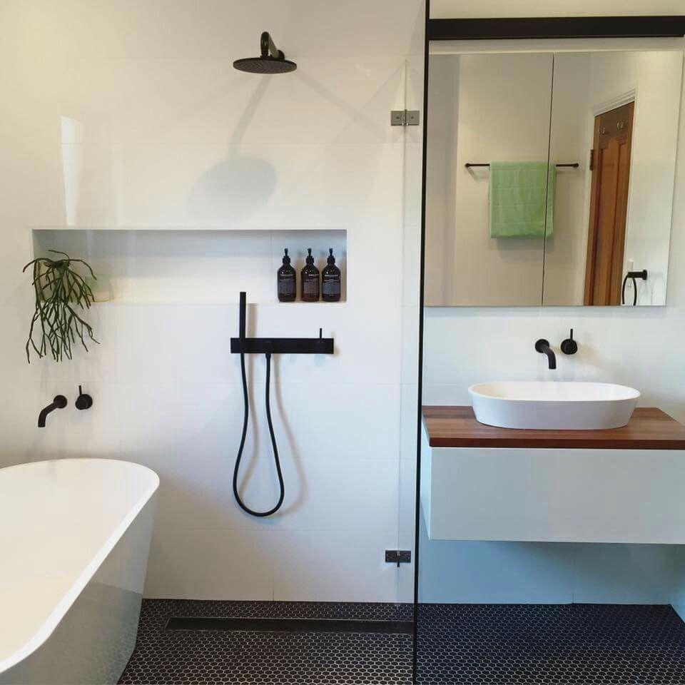 Shower and bath together tiny house bathroom bathroom - Small bathroom with tub and shower ...