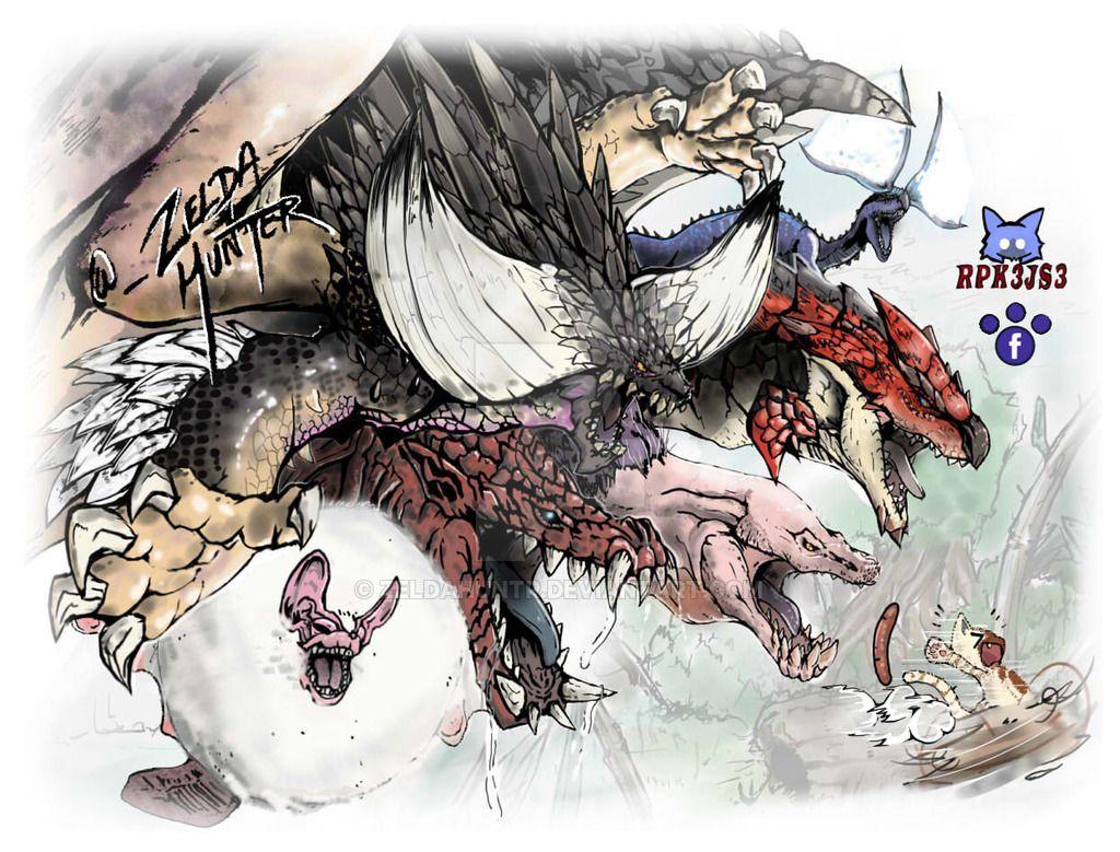 Pin By Leon D Hardin On Monster Hunter Monster Hunter Art