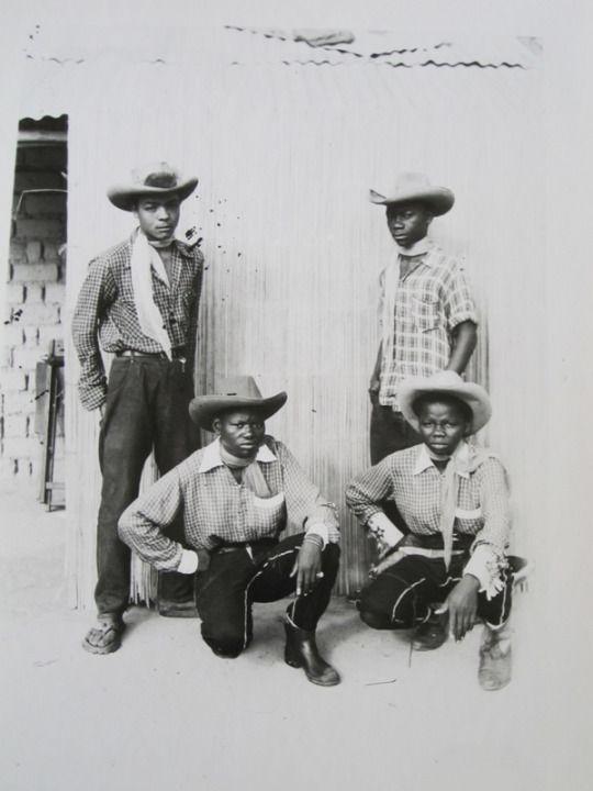 Jean Depara - Les cowboys du quartier Citas - 1958