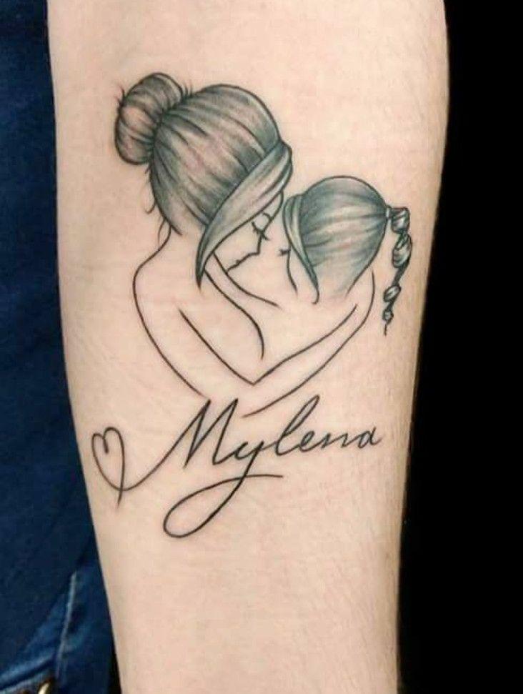 Tattoo Mãe E Filha Pdojeto Tatuagem Mae Tatuagem E Tatuagens