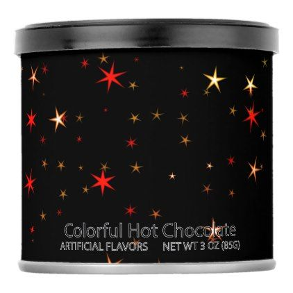 #Awesome allover Stars 02B Powdered Drink Mix - #Chocolates #Treats #chocolate