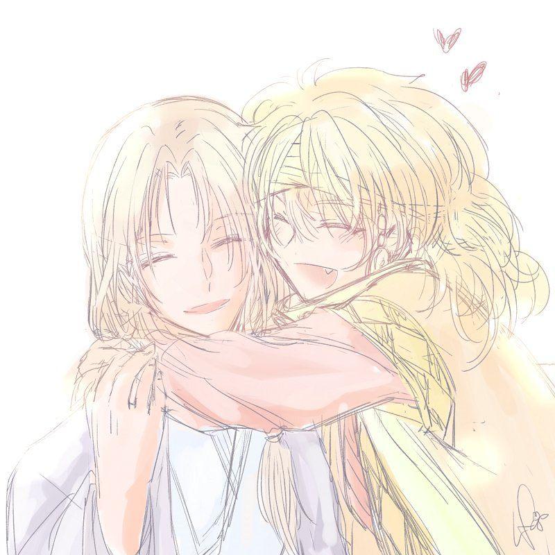 Akatsuki no Yona anime and Manga fanart by https://mobile.twitter.com/LAFID_P Zeno and soowon