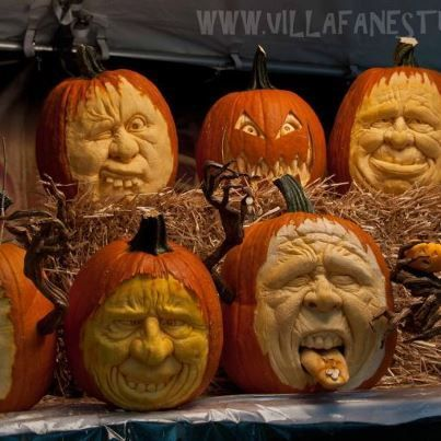 Ray Villafane Pumpkin Carver Extraordinaire Creates Spine - Mind blowing pumpkin carvings by ray villafane 2