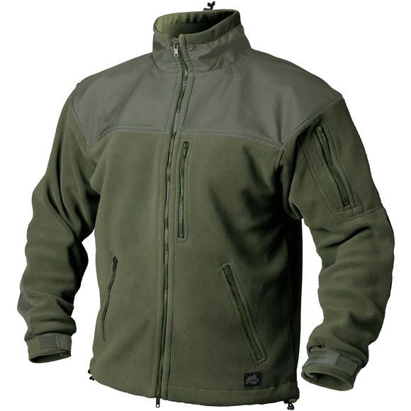 Mil-Tec Elite Fleece Hextac Jacket Mens Combat Trekking Airsoft Army Coat Olive