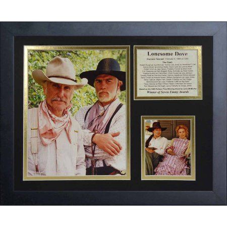 Legends Never Die Lonesome Dove Movie Framed Photo Collage, 11 inch x 14 inch