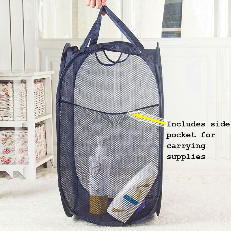 Landoom Pop Up Laundry Hamper Collapsible Laundry Basket Sturdy