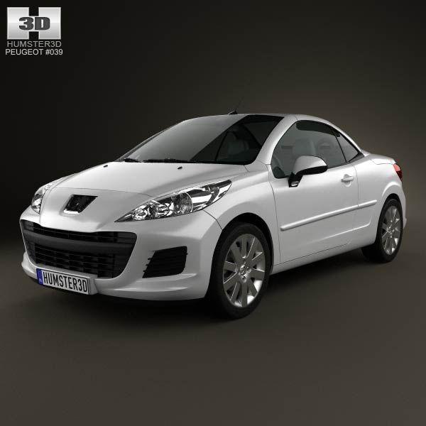 Cool Peugeot 2017 - 3D model of Peugeot 207 CC 2012 Check more at http://24car.ga/my-desires/peugeot-2017-3d-model-of-peugeot-207-cc-2012/