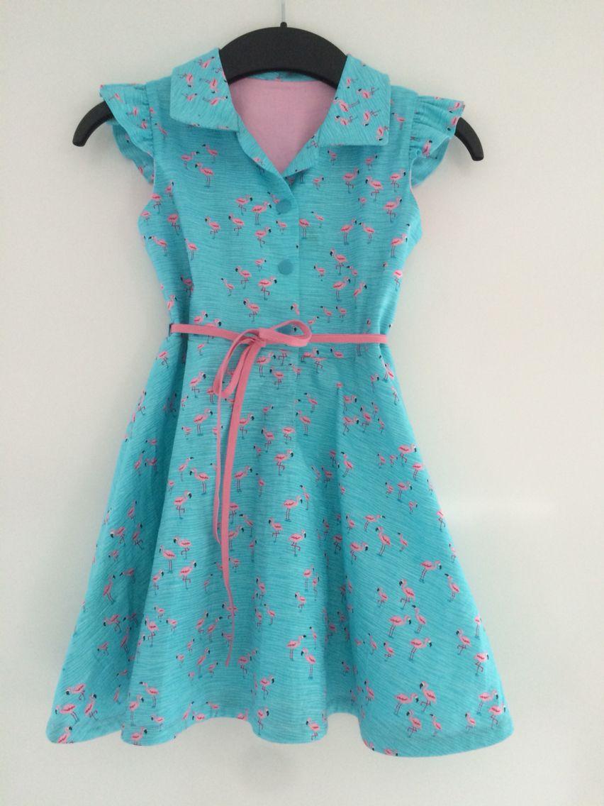Lena jurk - zelfgemaakte kleertjes   Naaien: Eigen ...  Preppy