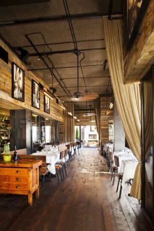 Restaurant Idea Warm Interior Design Wood Natural