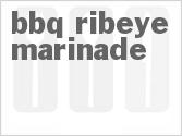 BBQ Ribeye Marinade