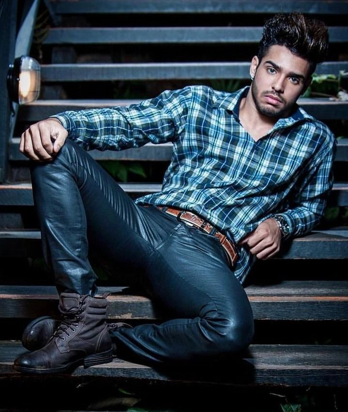Leather4Ever | Leather jeans men, Leather pants, Mens leather trousers
