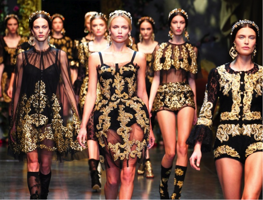 Dolce Gabbana Escape To A Different Time With Fashion And Art Pinterest Rococo Rococo