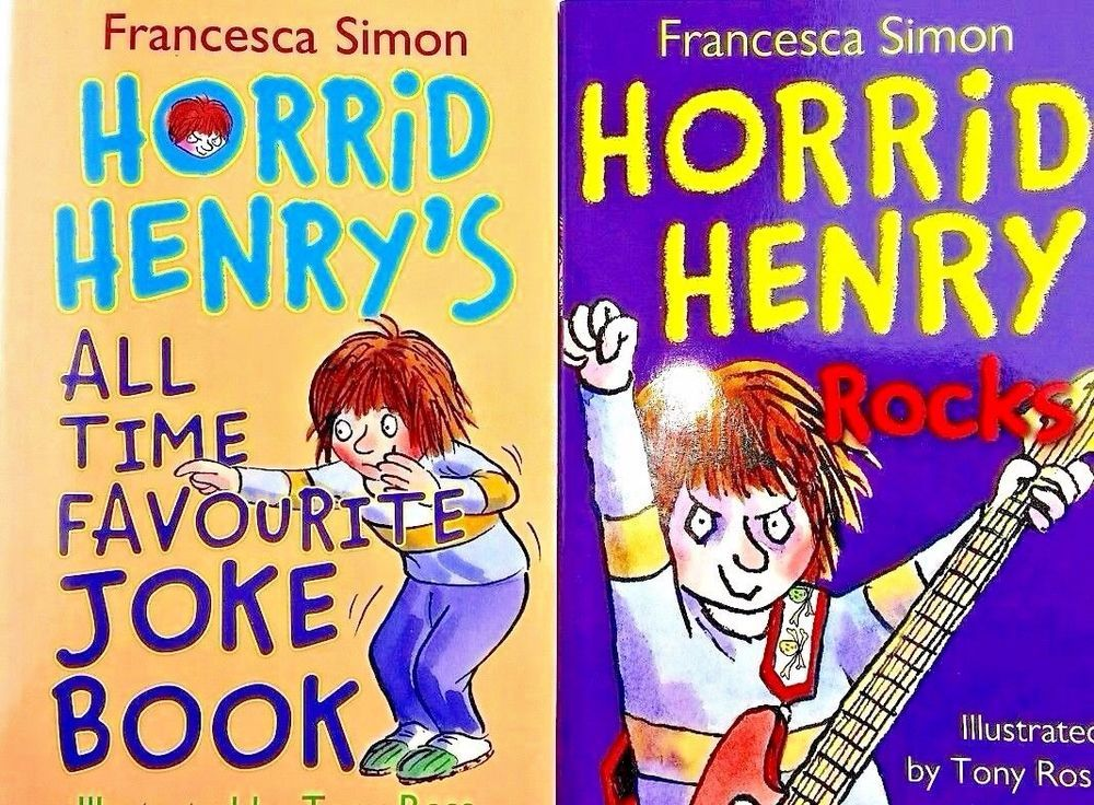 Horrid Henrys All Time Favourite Joke Book
