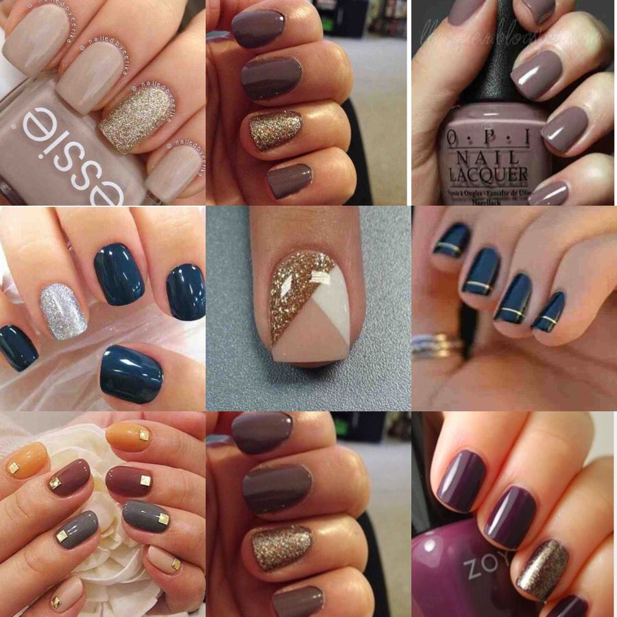 my favorite 2015 fall nail colors and designs!!! | nails | Pinterest ...