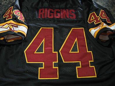 the best attitude 1e055 55a77 WASHINGTON REDSKINS #44 JOHN RIGGINS THROWBACK HOF PATCH ...