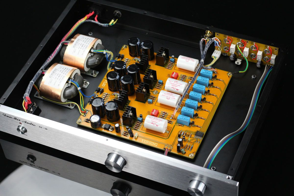 Pass 2 0 Single Ended Class A Preamp Fet Diy Speakers Hifi Single