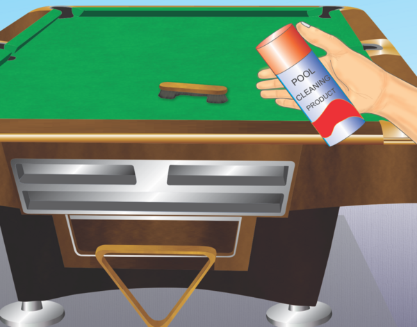 How To Clean A Felt Pool Table Top