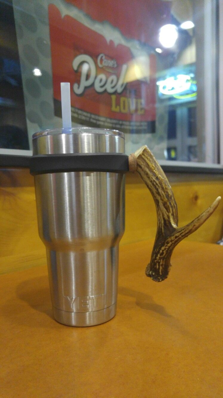 Yeti Deer Handle Glassware, Yeti cup, Mugs